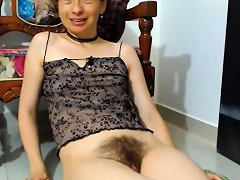 Hairy Amateur Solo Toy Fuck Nuvid