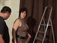 Mature German Granny Likes Fat Cock