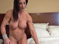 Muscle Milf Masturbates Her Big Clit Porn Db Xhamster